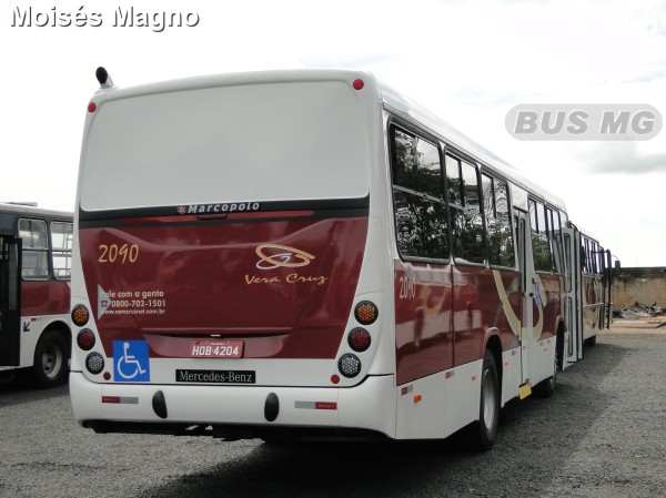 Marcopolo Torino, Mercedes-Benz OF-1418, Vera Cruz 2090