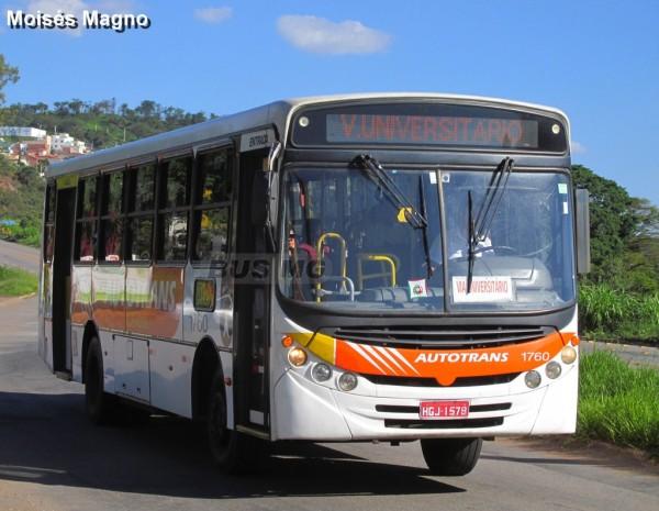 Caio Apache Vip II, Mercedes-Benz OF-1418, Autotrans 1760, HGJ-1578